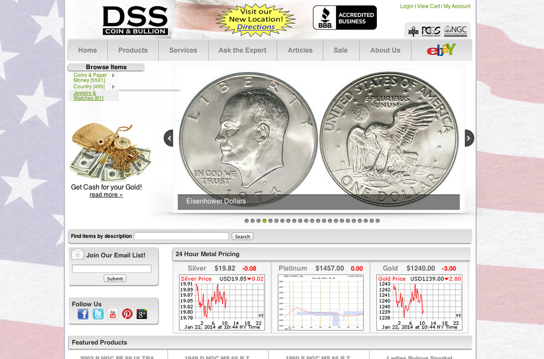 DSS Coin Screenshot