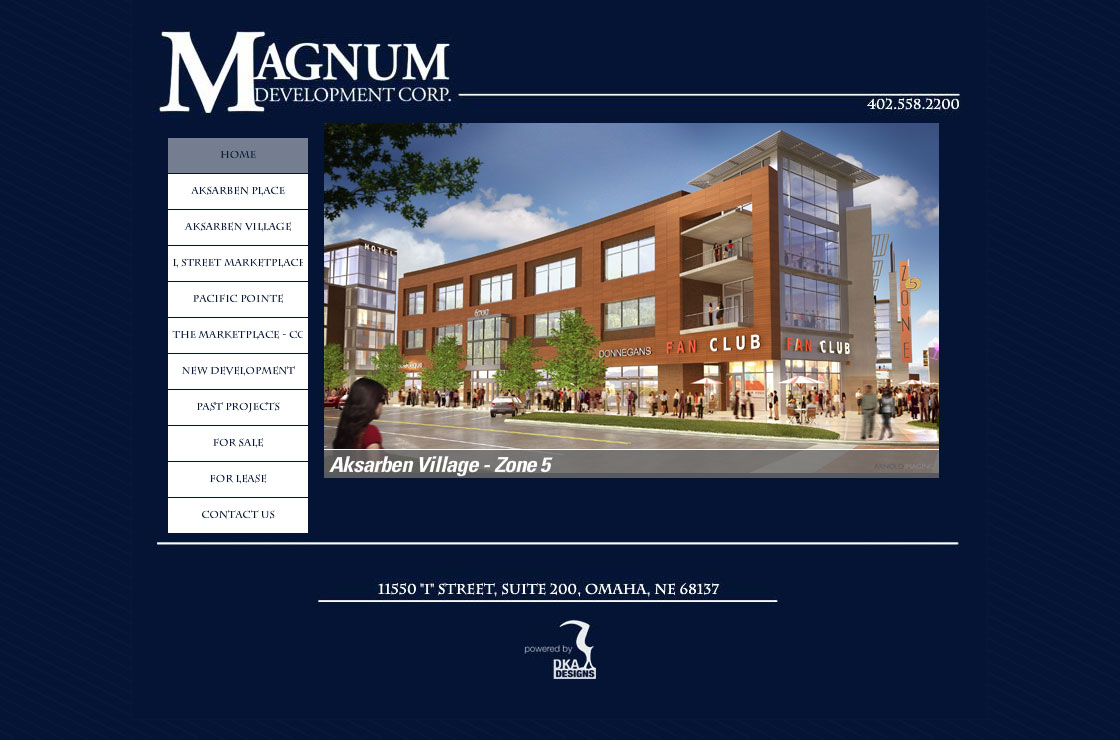 Magnum Companies website screenshot